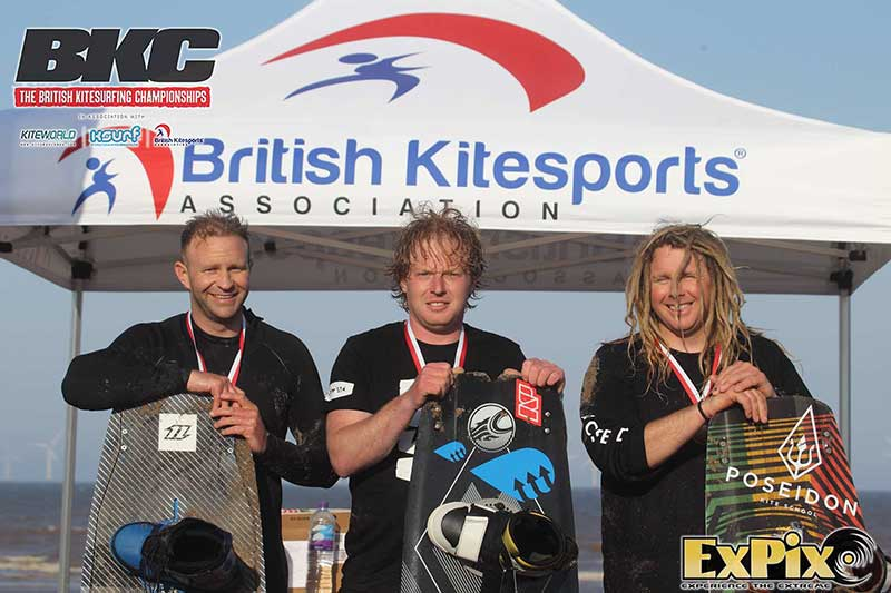 Masters podium Skegness