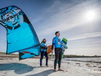 RAF100 Kitesurfing Outer Hebrides