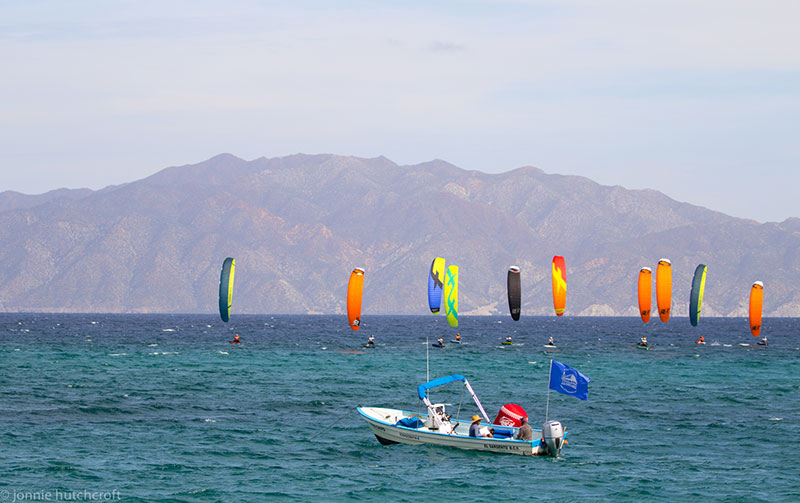 Kite4Gold Mexico racing