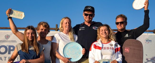 Open Mixed Relay Podium 2019 Formula Kite European Championships