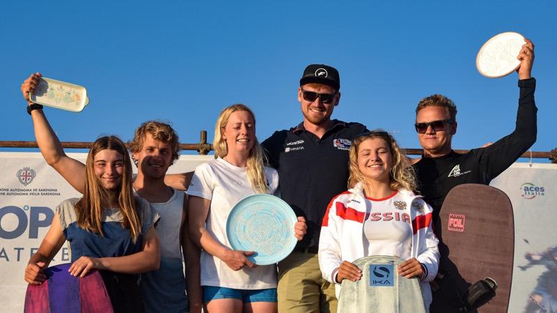 Open Mixed Relay Podium 2019 Formula Kite European Championships