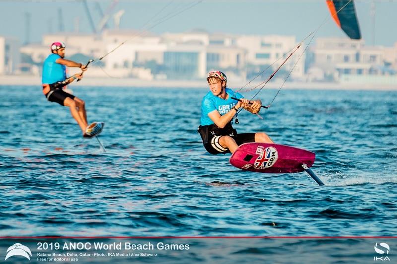 ANOC World Beach Games Qatar Guy Bridge