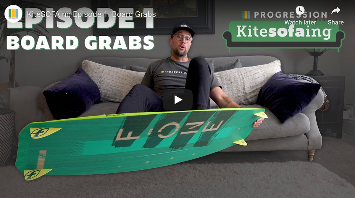 KiteSOFAing with Progression's Rob Claisse