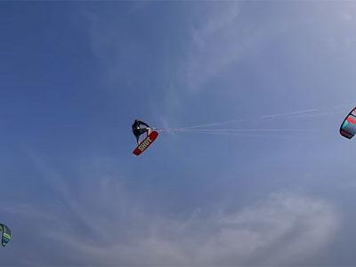 Sam Light UK kitesurfer