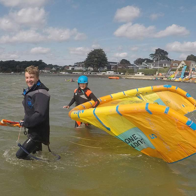 BKSA Youth Kitesurfing Lessons