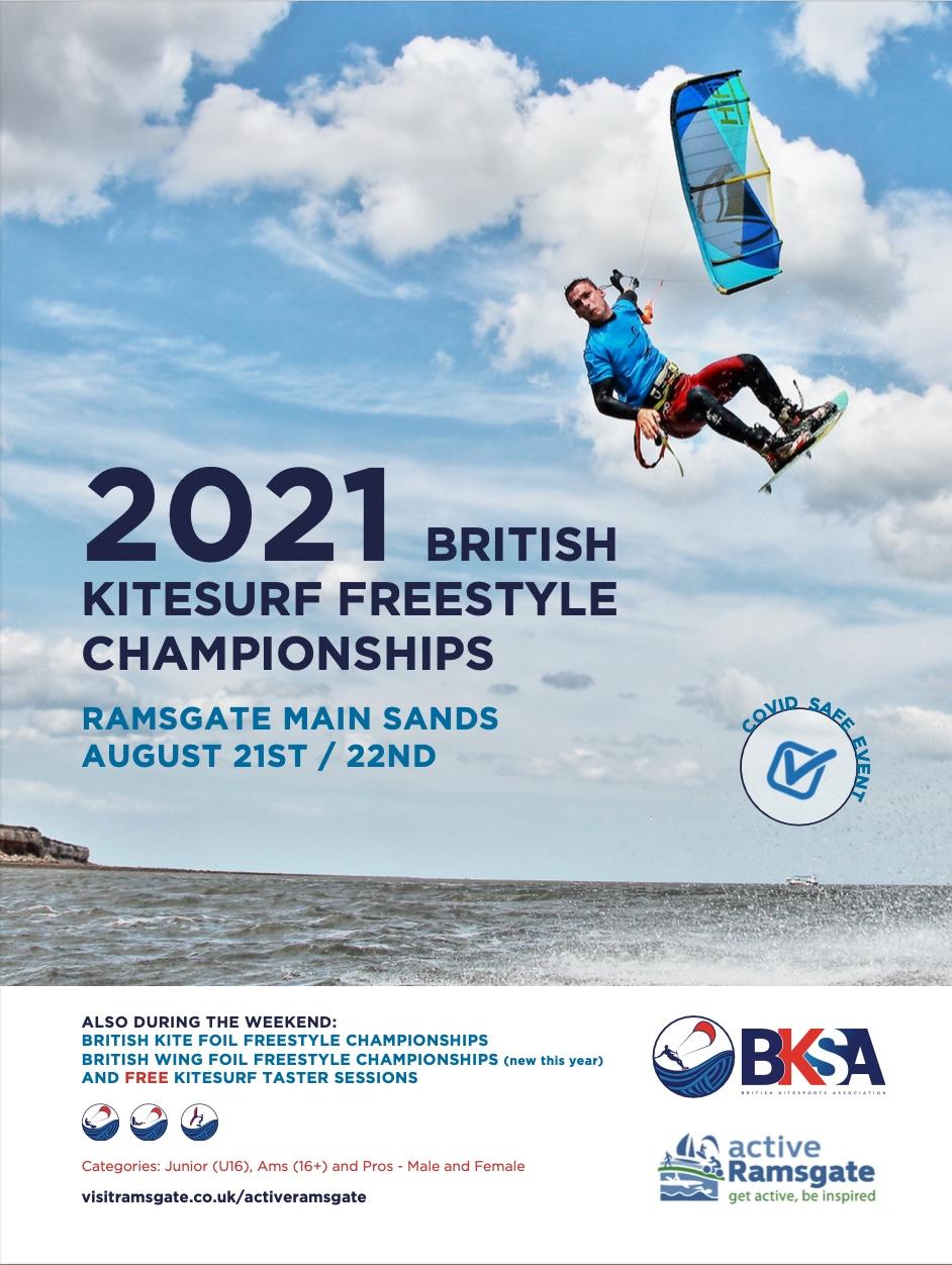 Ramsgate BKC Event 2021 Poster