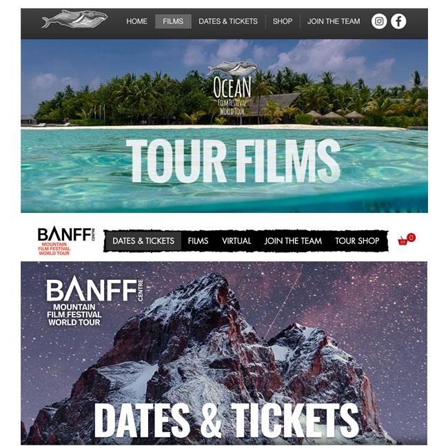 Banff and Ocean film festivals 2021